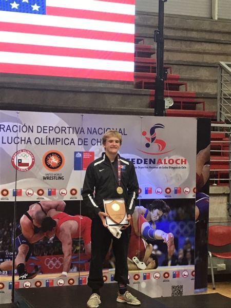 Vance VomBaur wins the Pan American Championships in Santiago, Chile